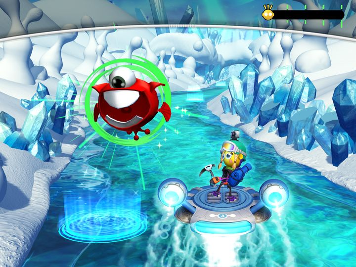 A screenshot of typical EndeavorRx gameplay.