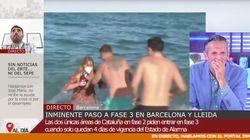 La reacción de Joaquín Prat al episodio machista de una reportera de 'Cuatro al día' desata las