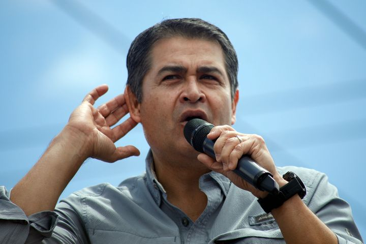 Honduras' President Juan Orlando Hernández has been hospitalized with COVID-19 and pneumonia.