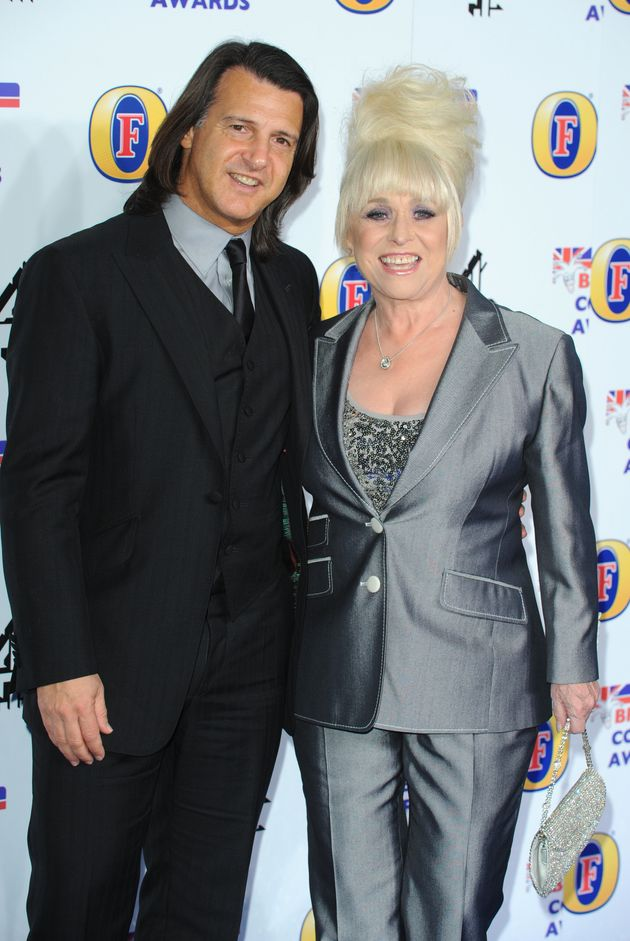 Scott Mitchell and Dame Barbara Windsor in