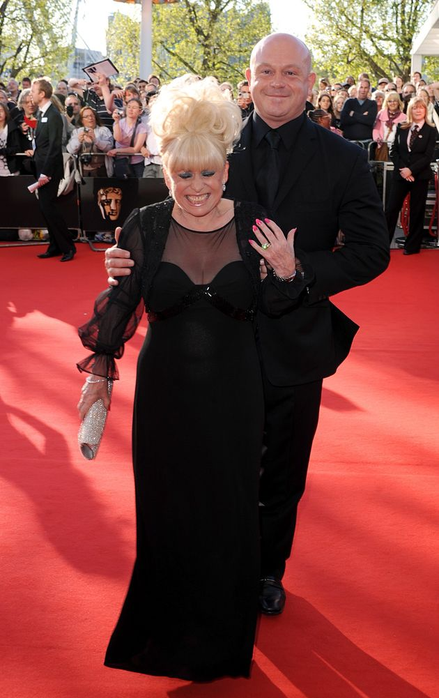 Ross Kemp with his former on-screen mum, Barbara