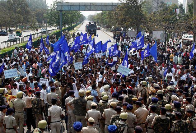 A file photo of a Dalit