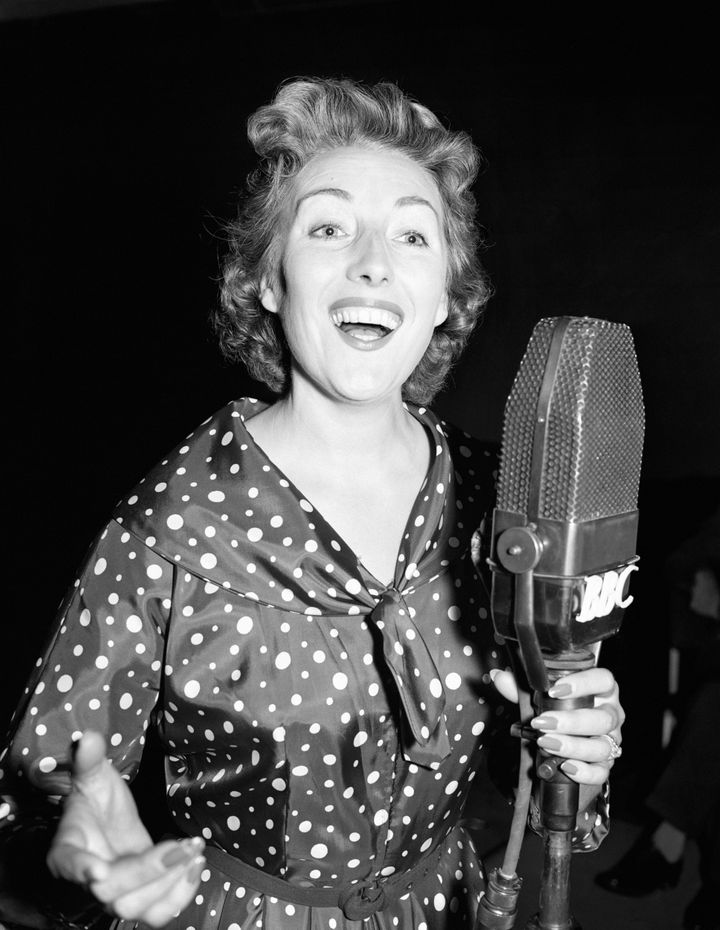 Dame Vera pictured in 1956