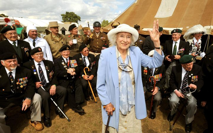 Dame Vera was an outspoken supporter of military veterans throughout her life
