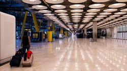 Los aeropuertos españoles estrenan el lunes más desinfección y cámaras termográficas