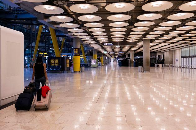 La terminal 4 de Madrid-Barajas Adolfo Suárez ,el 19 de mayo de 2020 (Oscar Gonzalez/NurPhoto...