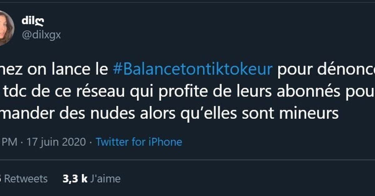 Avec #Balancetontiktokeur, elles dénoncent le chantage et les violences sexuelles sur TikTok