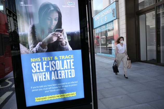 NHS Test And Trace Fails To Contact A Quarter Of People Who Tested Positive For