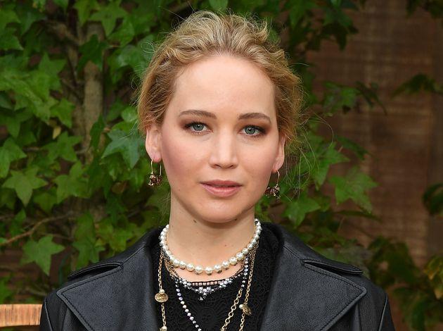 Jennifer Lawrence attends Paris Fashion Week in