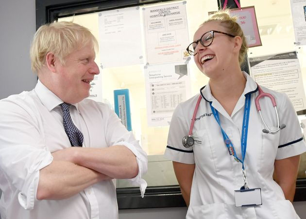Boris Johnson's 50,000 Nurses Pledge More Crucial Than Brexit In 'Red Wall'