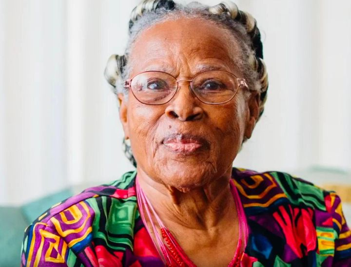Opal Lee, whose childhood home was burned down by a white mob on Juneteenth 1939.