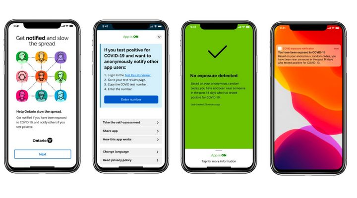 The Ontario government released details about its coronavirus contact tracing app, which will eventually be available across Canada, in Toronto Thursday.