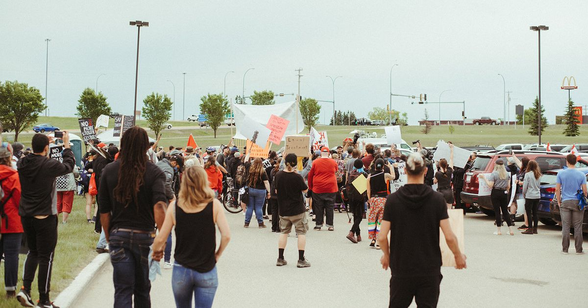 Here's What It's Like To Organize Against Racism In Alberta's Heartland