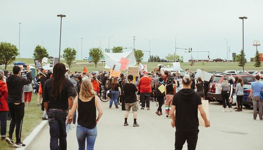 Here's What It's Like To Organize Against Racism In Alberta's