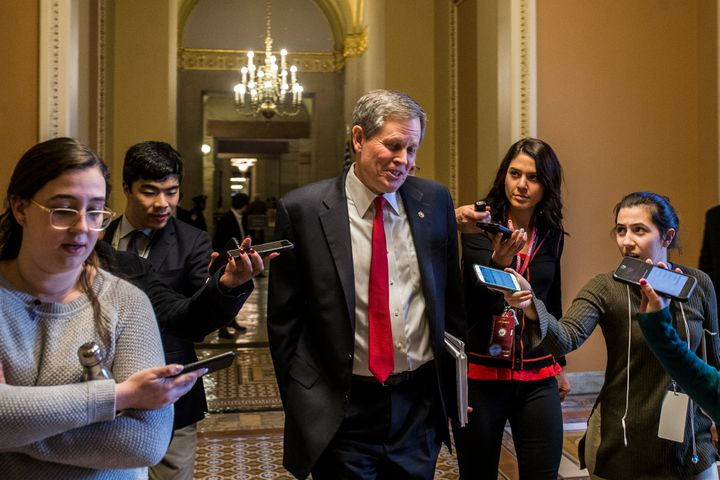 Montana Sen. Steve Daines is among the Republicans whose reelection messages include touting tough stances toward China. But