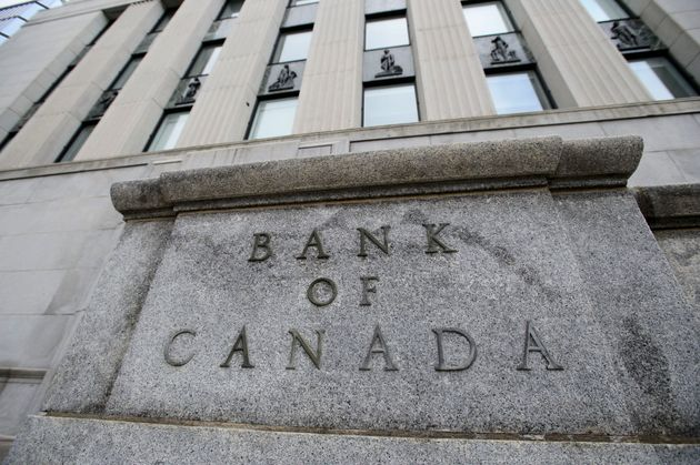 The Bank of Canada is shown in Ottawa on April 24,