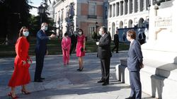 El espontáneo gesto por el que Felipe y Letizia casi se saltan las medidas de seguridad: