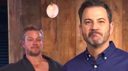 Matt Damon Interrupts Jimmy Kimmel's Big Announcement And... Umm...
