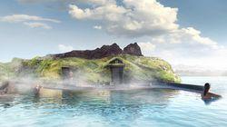 Ισλανδία: Η τεχνητή λιμνοθάλασσα με θέα στον ωκεανό, σάουνα και