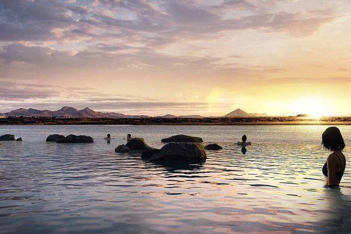 Λιμνοθάλασσα στην Ισλανδία