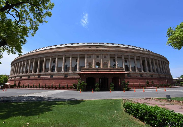 A view of the Parliament.