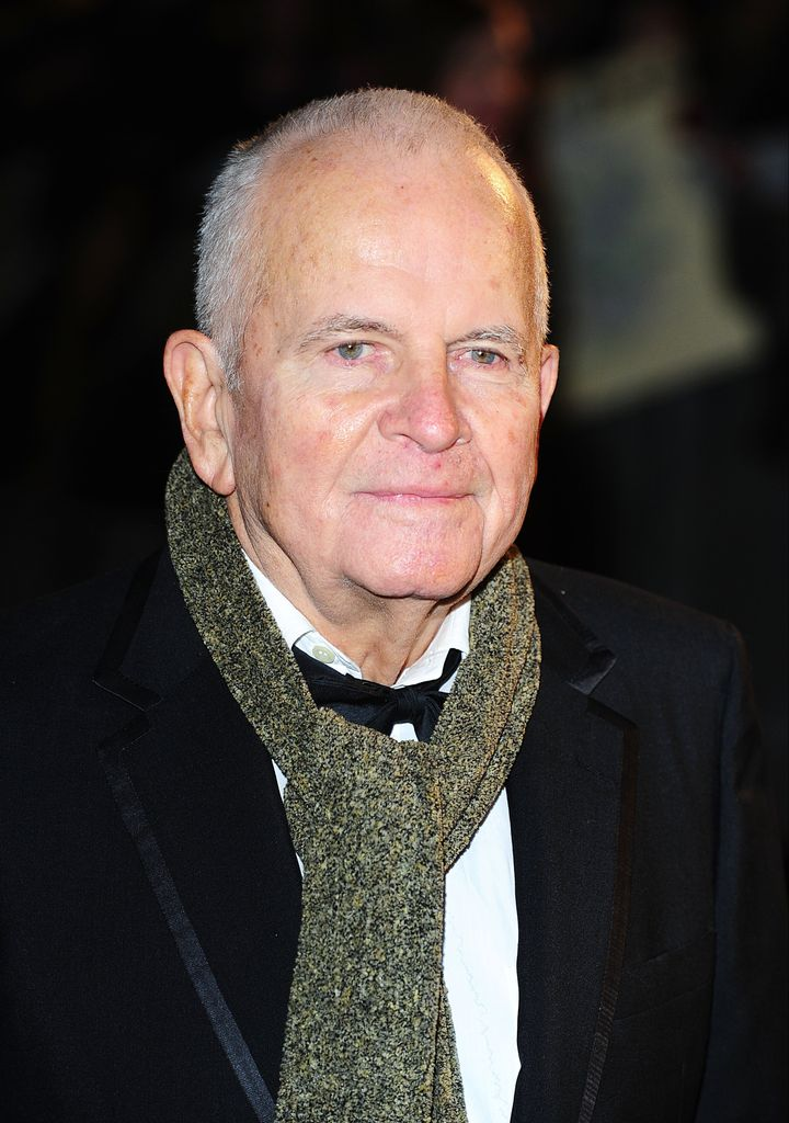 Sir Ian Holm at the premiere of The Hobbit: An Unexpected Journey