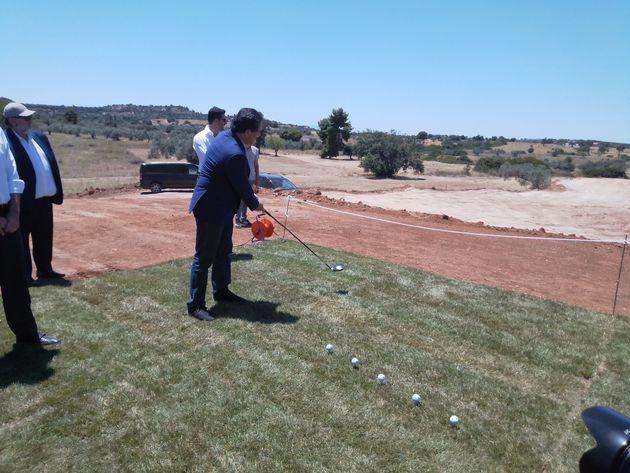 Θεμελιώθηκε η μεγάλη τουριστική επένδυση Kilada Country Club – Golf –