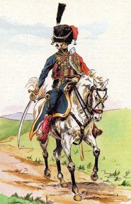 Αξιωματικός του Γαλλικού στρατού της περιόδου των Ναπολεόντειων