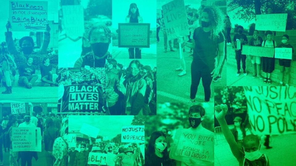 Le HuffPost a demandé aux manifestants pourquoi ils descendaient dans la rue. Certains ne l'avaient jamais fait, d'autres sont venus avec leurs enfants, mais tous et toutes étaient là que les choses changent.