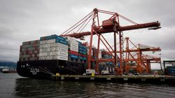 B.C. Ports Quiet As Workers Stop Operations In Support Of
