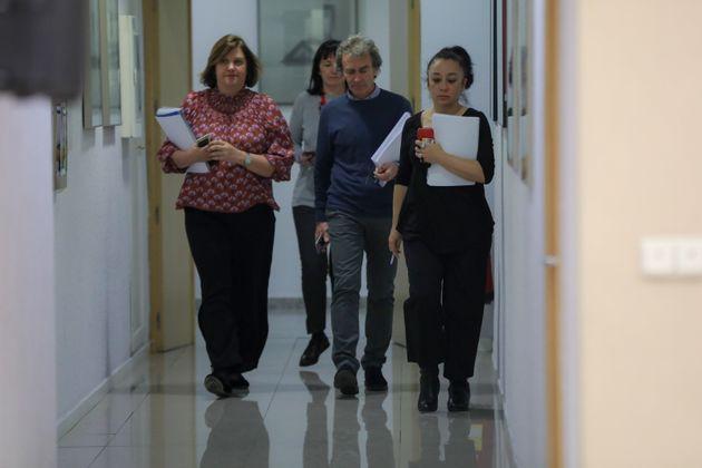Fernando Simón de camino a una reunión del comité creado por el Gobierno para gestionar...