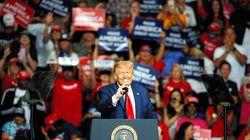 トランプ氏、米大統領選に向けた集会を強行。マスク着用なし、直前にスタッフ6人が陽性反応