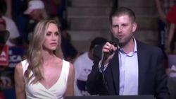 Un hijo de Trump llama
