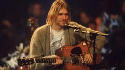 La guitare de Kurt Cobain vendue 6 millions de dollars et c'est un clin d'œil de