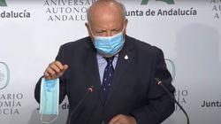 La aplaudida arenga del consejero de Sanidad andaluz a quienes se ponen mal la