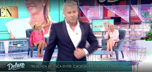 Jorge Javier Vázquez abandona el plató de 'Sábado