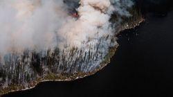 Le feu de forêt au Lac-Saint-Jean s'approche d'une centrale