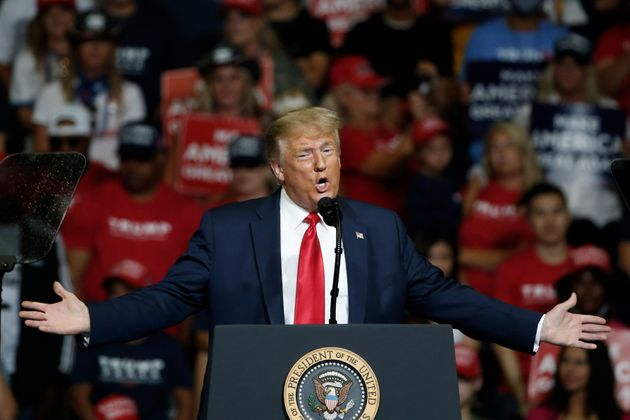 President Donald Trump speaks during a campaign rally in Tulsa, Okla., Saturday, June 20, 2020. (AP Photo/Sue