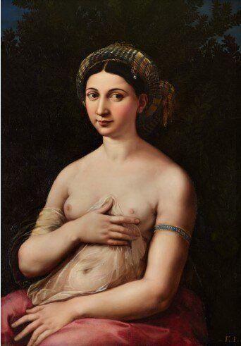 Raffaello. Ritratto di donna nei panni di Venere