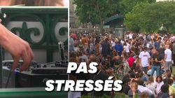 Au canal Saint-Martin, la fête de la musique ressemblait à toutes les autres et ça