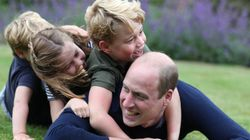 Prince William Celebrates Birthday And Father's Day With Candid New