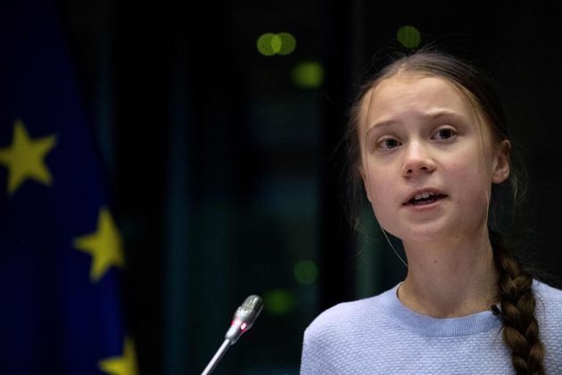 環境活動家のグレタ・トゥンベリさん=2020年3月