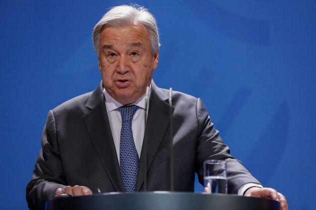 国連のグテーレス事務総長=2019年11月