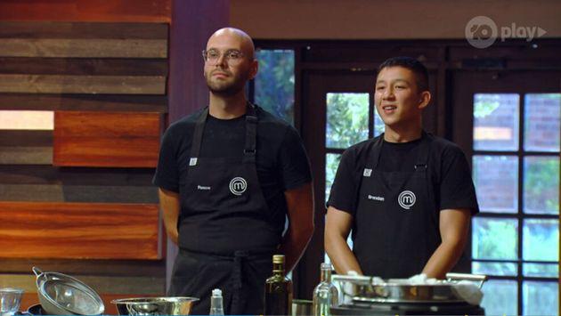 'MasterChef Australia: Back To Win' contestants Reece Hignell and Brendan