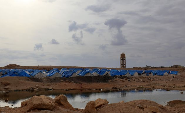 Selon des associations, il y aurait plus de 300 enfants français détenus sous les tentes...