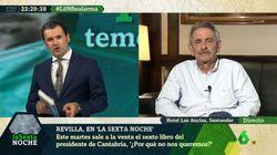 El toque de atención de Revilla a Iñaki López en pleno directo por lo que se ve en esta