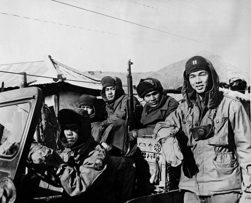 1951년 필리핀군의 도로 순찰 모습. 2020년 6월 22일