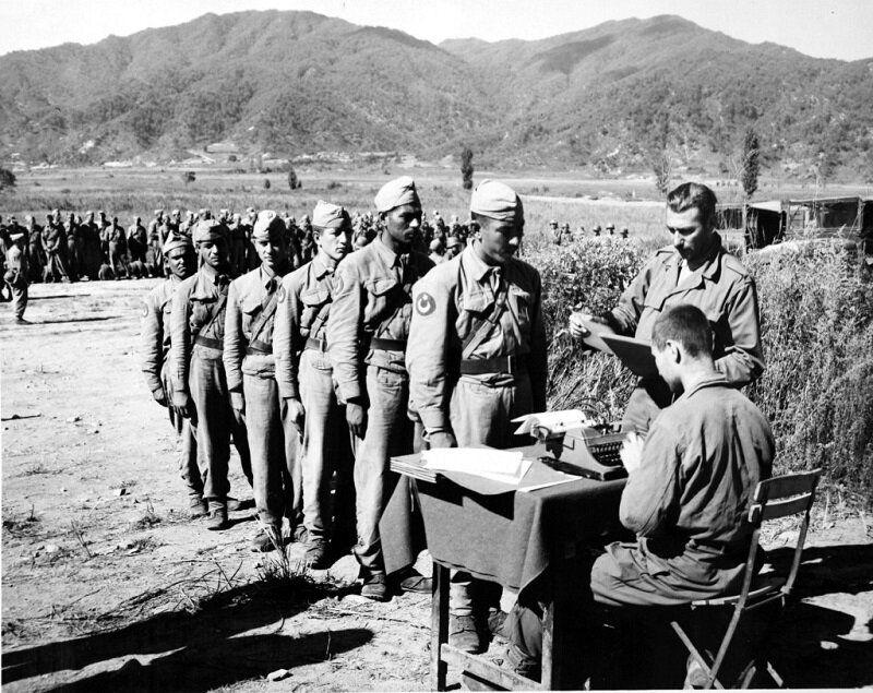 1951년 3월 한국에 갓 도착한 터키군 병사의 모습. 2020년 6월 22일