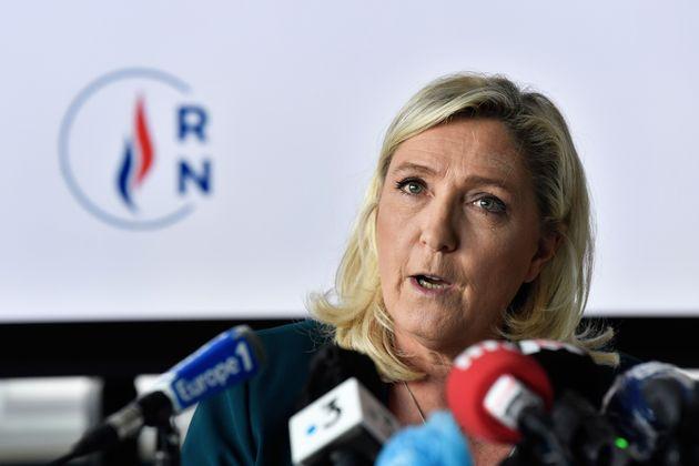 Marine Le Pen n'est pas du tout convaincue par la manière dont s'est achevée la Convention...