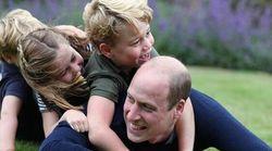 Ο πρίγκιπας Γουίλιαμ γιόρτασε τα γενέθλια και την Ημέρα του Πατέρα με τα παιδιά